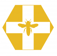 gallery/bee rescue logo yellow